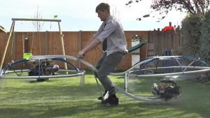Hoverbike จักรยานลอยฟ้าแบบโฮมเมด-บินได้จริง