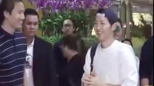 ซงจุงกิ มาไทย สนามบินแทบแตก !!!