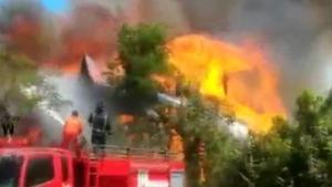 ไฟไหม้บ้านทรงไทยพญาไม้ พัทยา