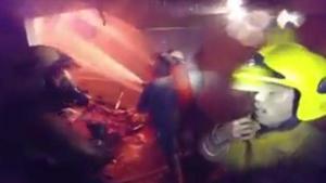 ภาพอีกมุมจากอาสาฯดับไฟ เหตุเพลิงไหม้ ห้างเมเจอร์ ปิ่นเกล้า ล่าสุด