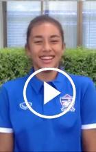 น่าร๊าก....อ่ะ! กองหน้าลูกครึ่งไทย-อเมริกัน กับการหัดพูดภาษาไทย