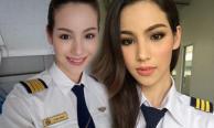 น่ารักไปอีก จูลี่ The Face ในชุดนักศึกษาการบิน