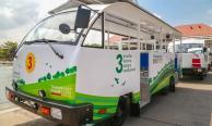 """หัวใส! มธ.แก้ปัญหานศ.ใช้รถส่วนตัวด้วย """"รถไฟฟ้า"""" ที่แรกของมหาวิทยาลัยไทย"""