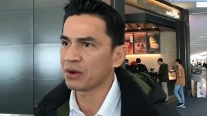 """ซิโก้ ให้สัมภาษณ์ก่อนกลับไทย พร้อมทิ้งประโยคเด็ด """"จะโละโค้ช โละทีม ก็แล้วแต่ท่านนายก"""""""