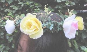 DIY มงกุฎดอกไม้ง่ายๆ ในราคาเพียง 120 บาท