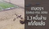 ส่อแล้งหนัก ! ก.เกษตร เตรียมขอ งบประมาณ 13,000 ล้านบาท แก้ปัญหา